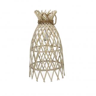 Lampe bambou sur pile  - Irene